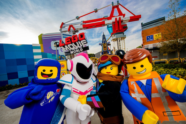 LEGOLAND California Resort announces new LEGO MOVIE World
