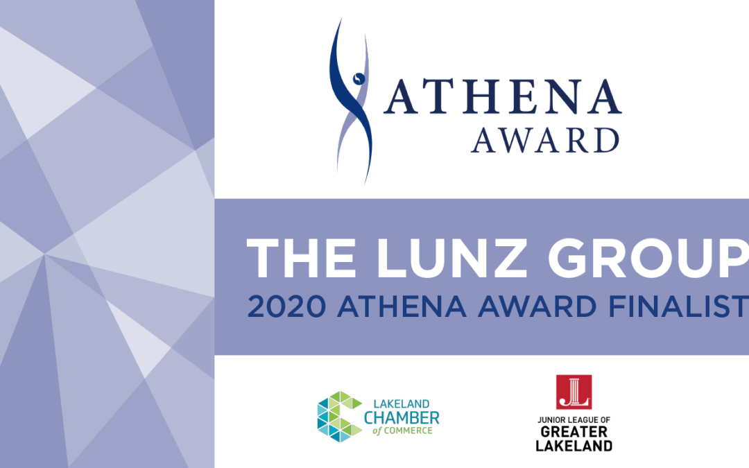 The Lunz Group Nominated as a 2020 ATHENA Award Finalist