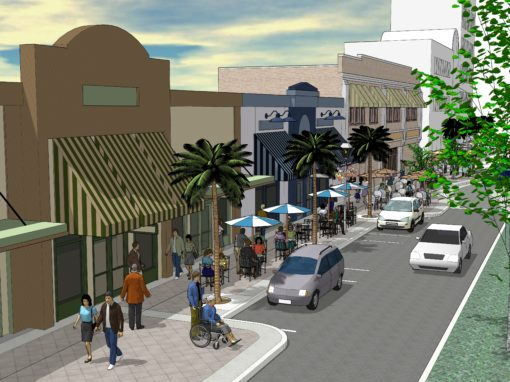 Cleveland Street CRA Facade Design