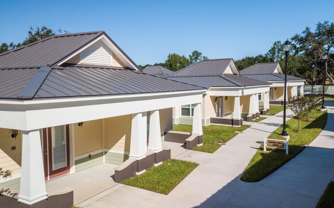 Tiny Homes Set to Make a Big Impact on Lakeland's Vets