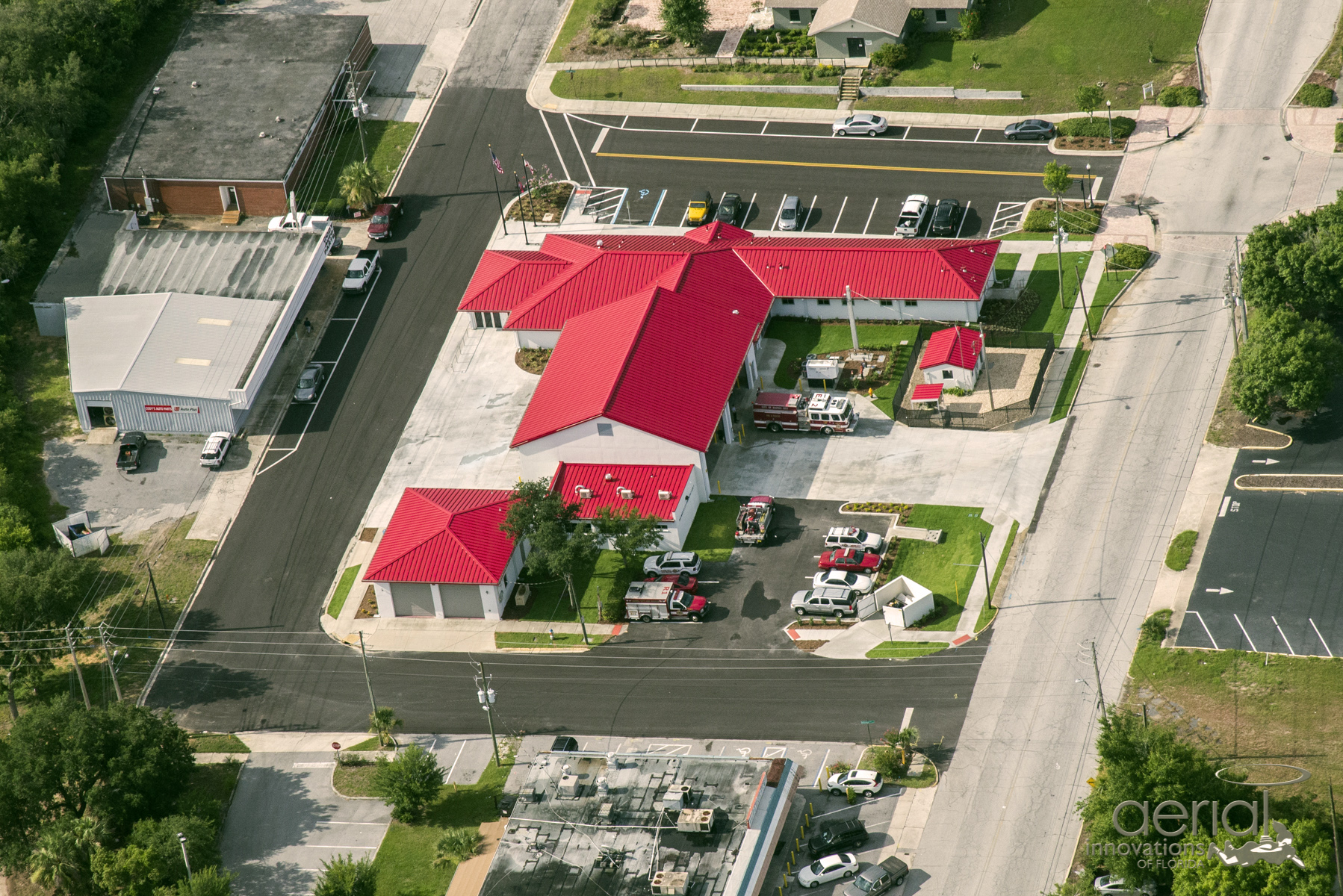 Haines-City-Fire-Station-Aerial