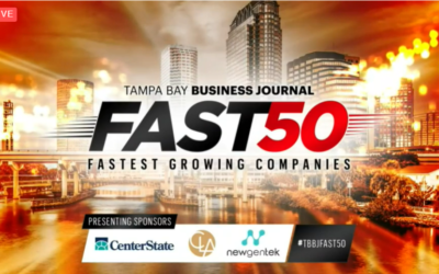 The Lunz Group Named Top 10 Among the Tampa Bay Business Journal's Fast 50