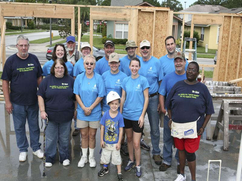 LPF Sponsors Habitat for Humanity Home