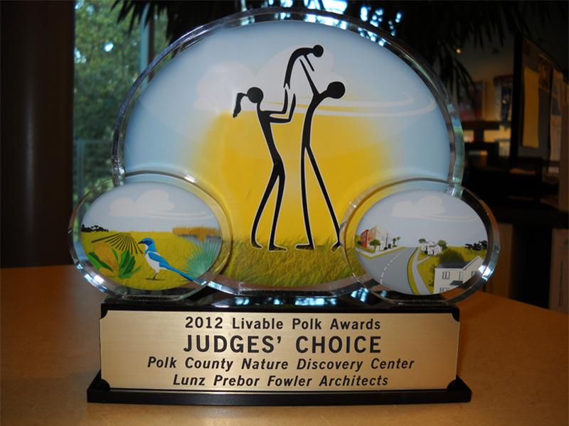 LPF Honored at Inaugural Livable Polk Awards