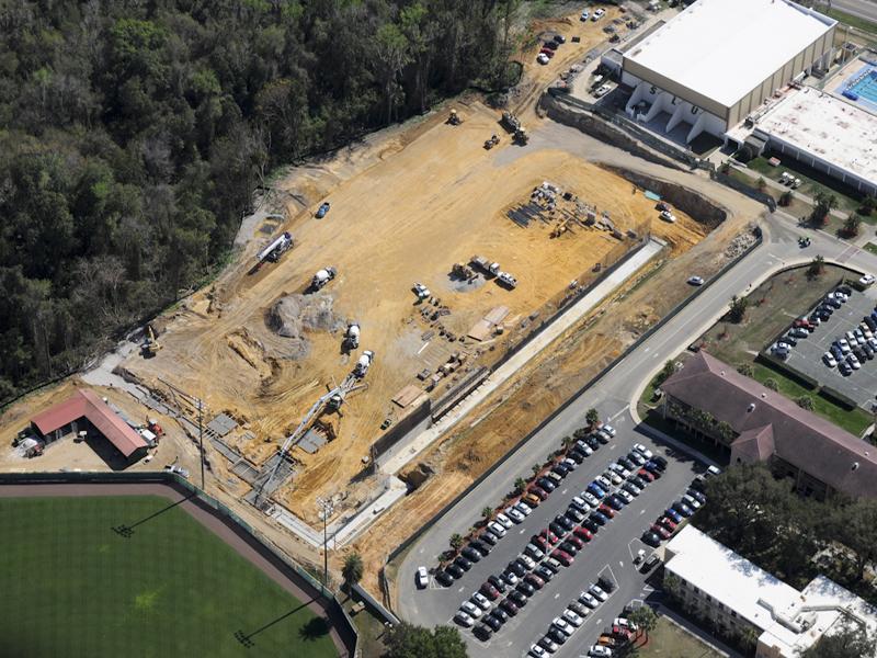 Saint Leo University- Parking Garage and Sports Field
