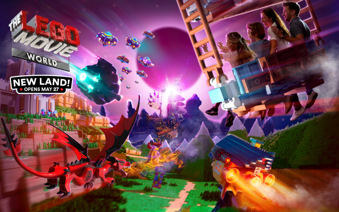 THE LEGO® MOVIE™ WORLD in California Opens May 27th
