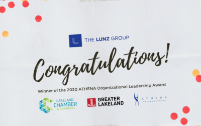 The Lunz Group – 2020 ATHENA Award Recipient
