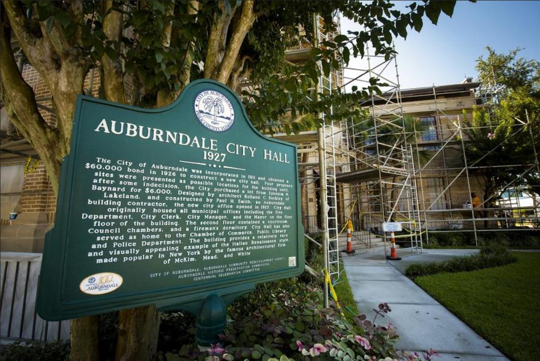 Auburndale City Hall Under Major Renovations